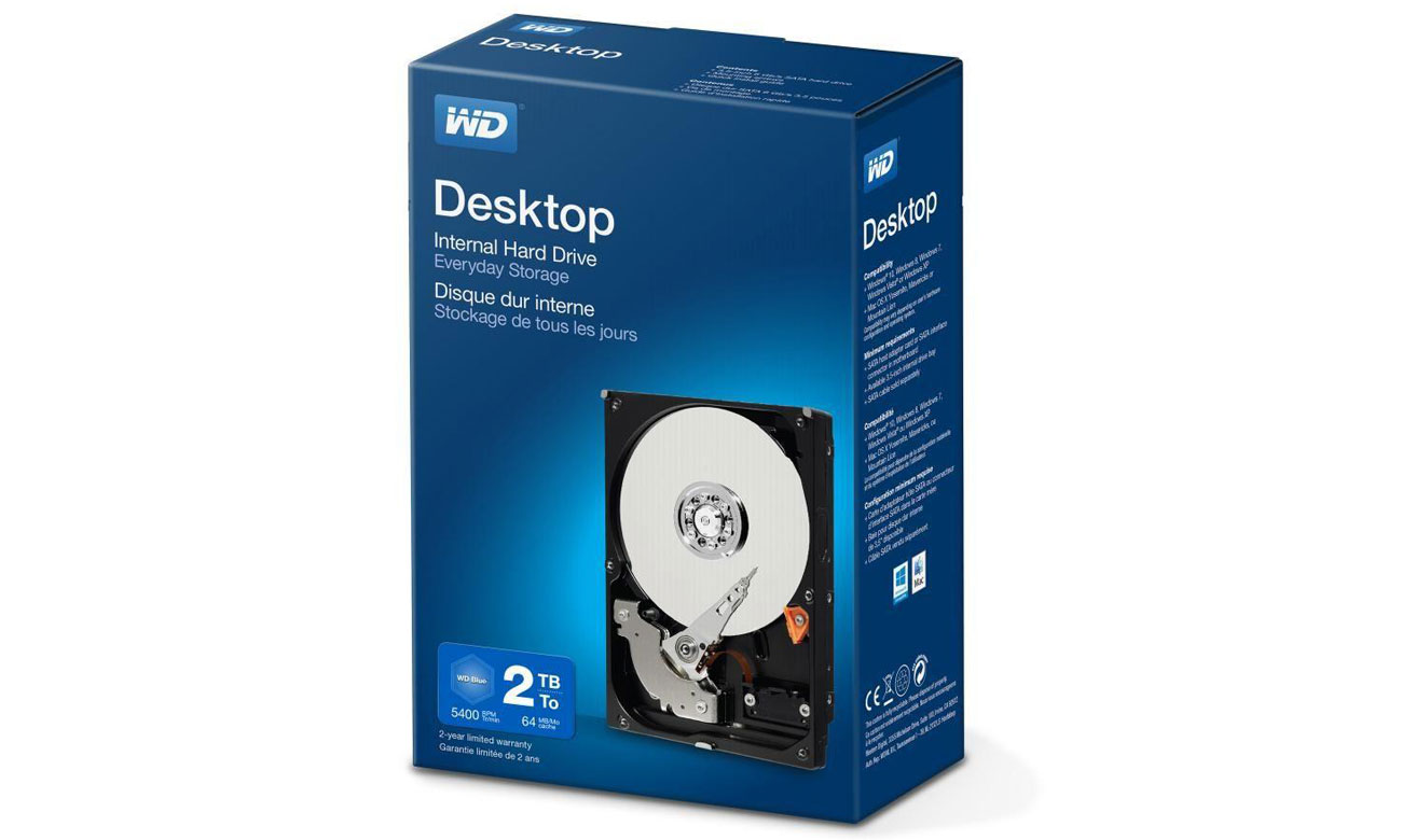 Dysk twardy WD Desktop Największa wydajność