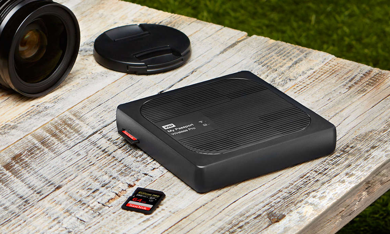 WD 	My Passport Wireless Pro 4TB czarny WiFi