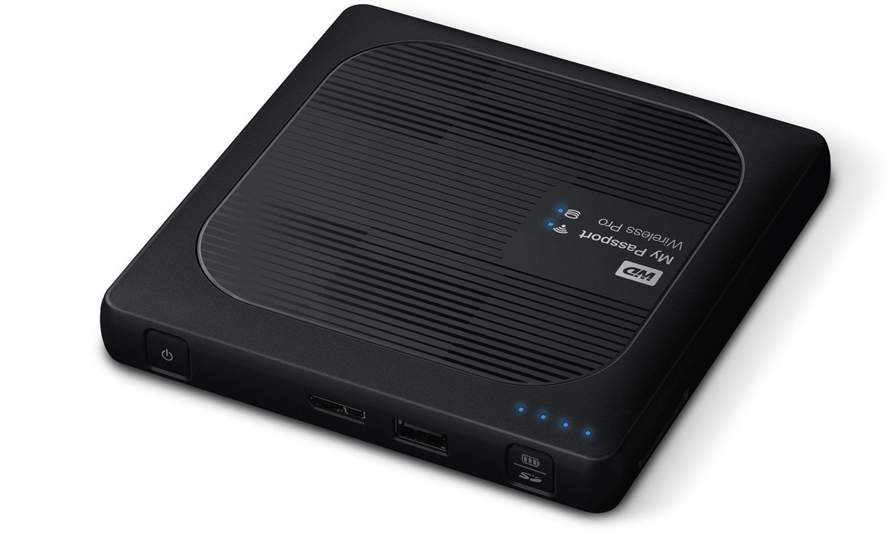 WD 	My Passport Wireless Pro 4TB Złącze USB