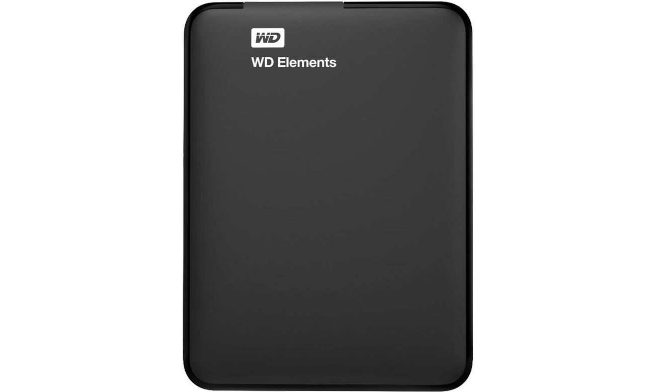 WD Elements Portable 3TB czarny widok od góry