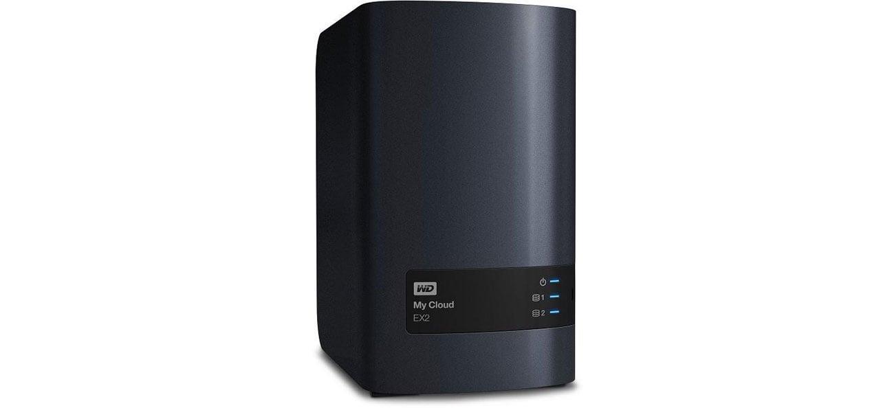 Dysk/macierz sieciowa WD My Cloud EX4100 oszczędzanie energii milestone arcus