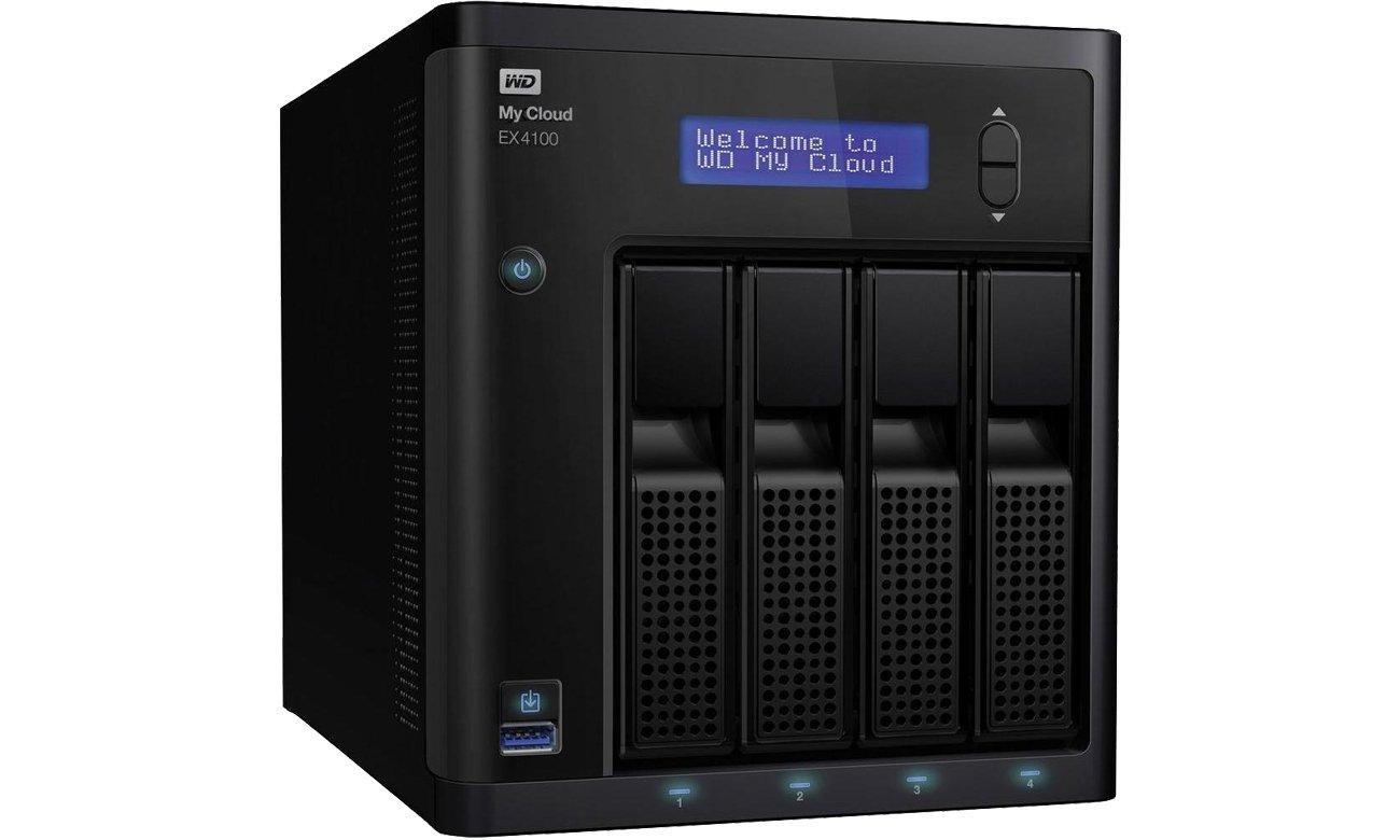 Dysk/macierz sieciowa WD My Cloud EX4100