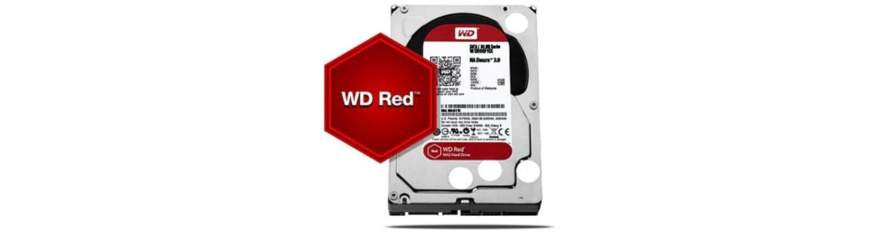 Dysk/macierz sieciowa WD My Cloud EX4100 - Dysk WD Red NAS
