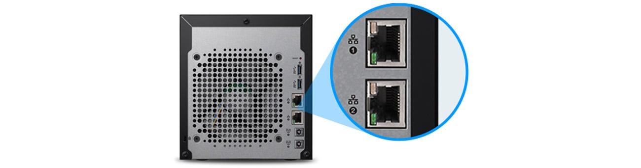 Dysk/macierz sieciowa WD My Cloud EX4100 - dwa porty Ethernet