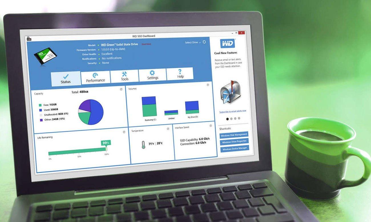 Dysk SSD 1TB Green SSD 3D NAND