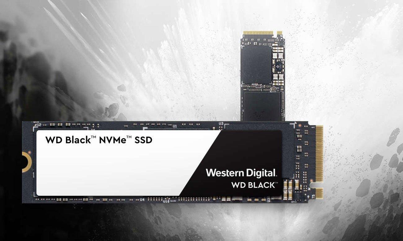 WD Black NVMe SSD Niezrównana prędkość