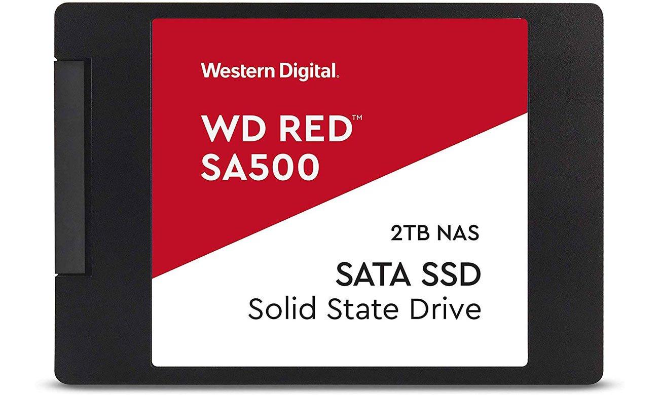 Dysk SSD WD 2TB 2,5'' SATA SSD Red SA500 WDS200T1R0A