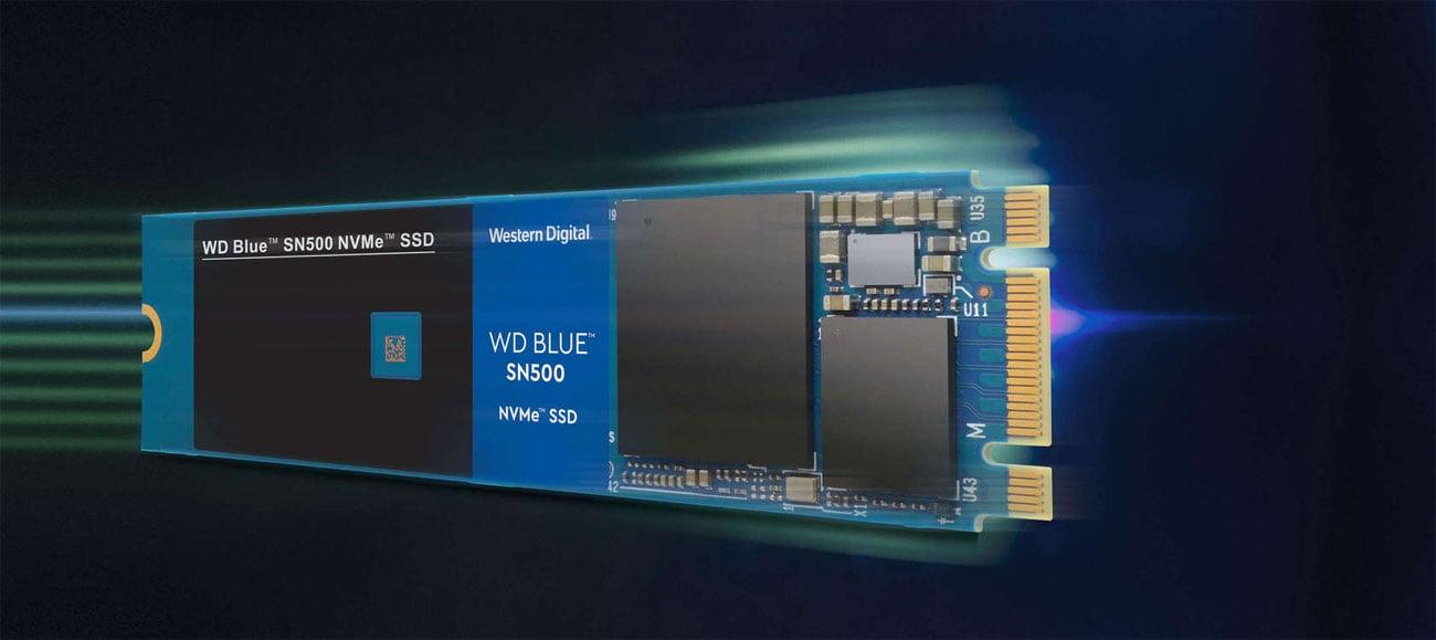 Dysk WD BLUE SN500 NVME SSD