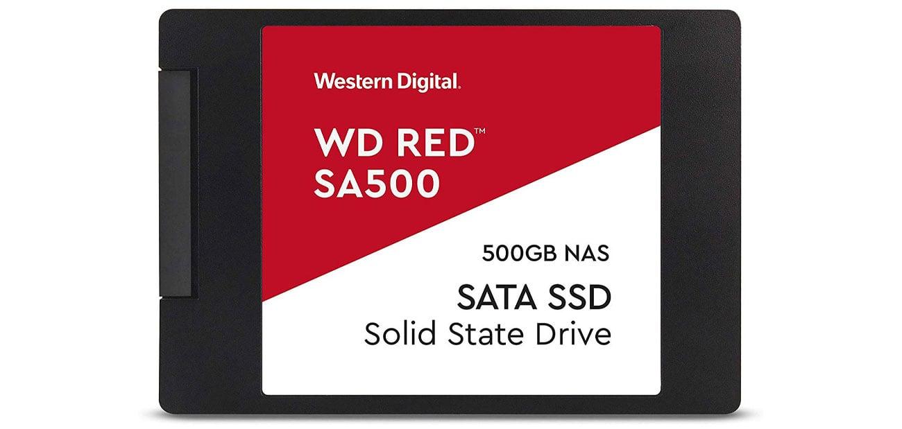 Dysk SSD WD 500GB 2,5'' SATA SSD Red SA500 WDS500G1R0A