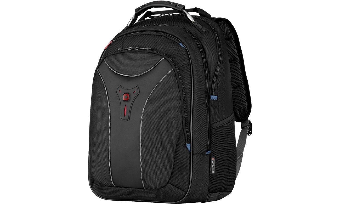 Plecak na laptopa Wenger Carbon Black 17'' 600637