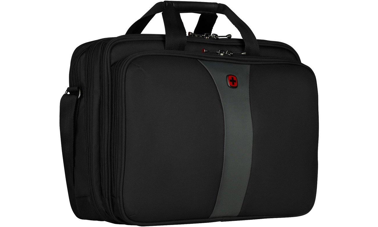 Torba na laptopa Wenger Legacy czarno - szara 17'' 600655