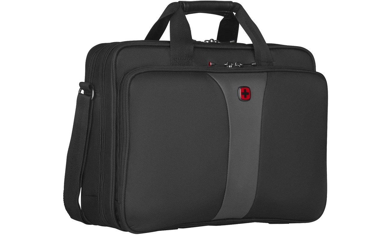 Torba na laptopa Wenger Legacy czarno - szara 16'' 600648