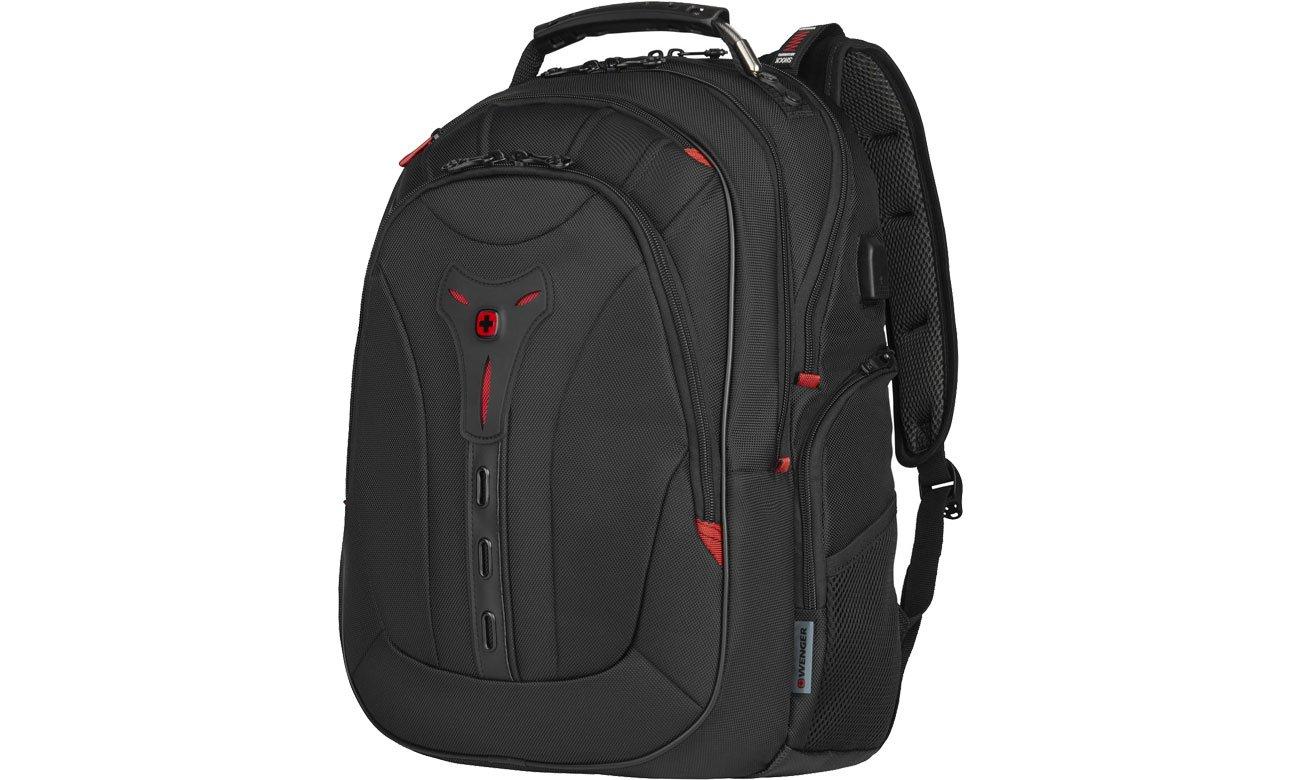 Plecak na laptopa Wenger Pegasus Deluxe czarny 16'' 606492