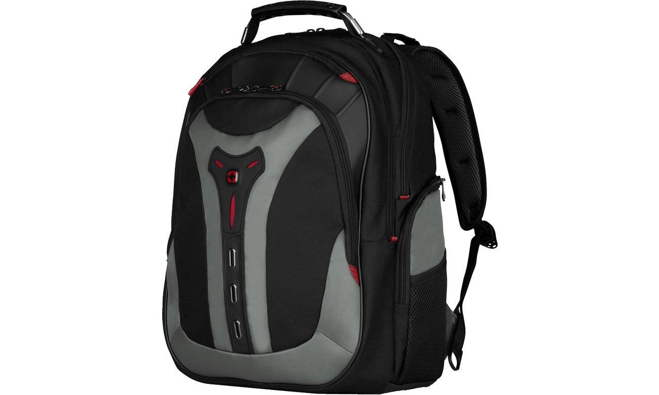 Plecak na laptopa Wenger Pegasus czarno - szary 17'' 600639