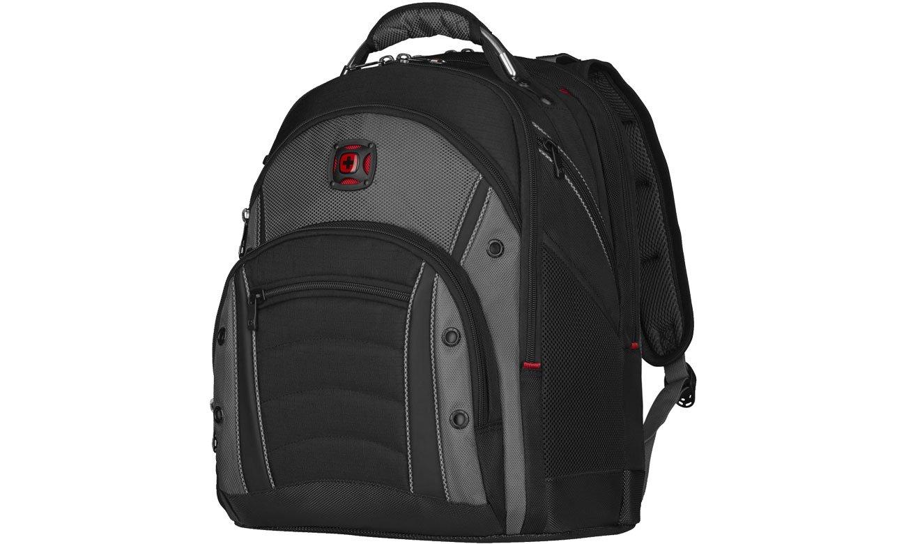 Plecak na laptopa Wenger Synergy czarno - szary 16'' 600635