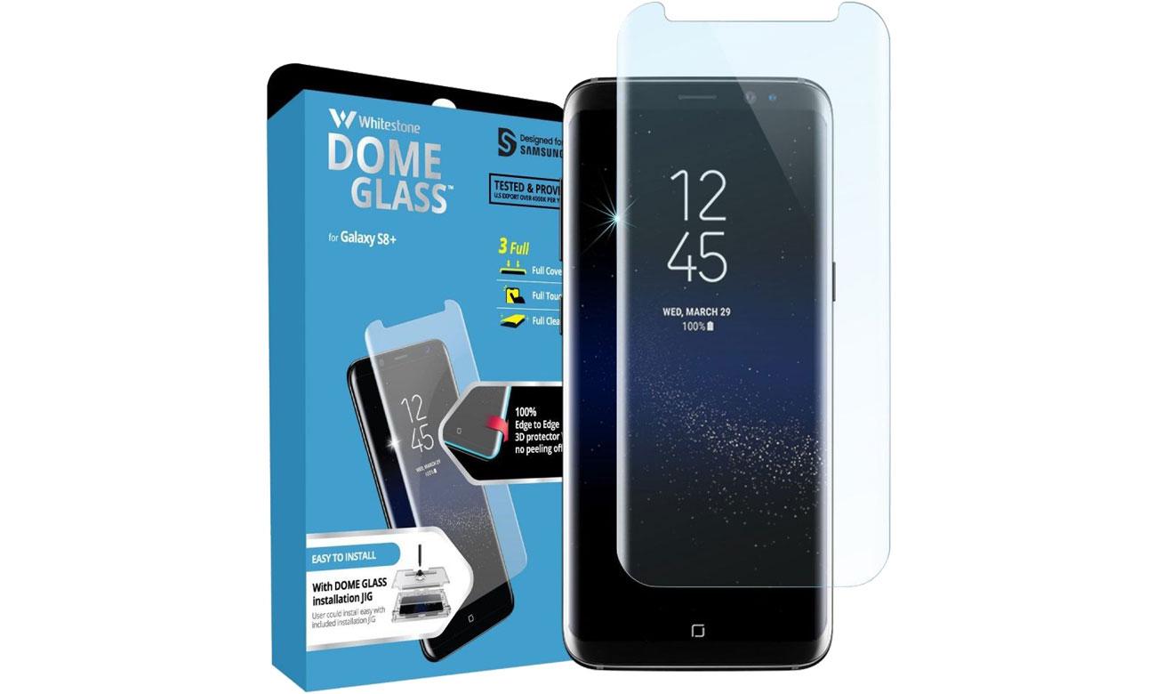 Szkło Hartowane Dome Glass do Galaxy S8 8809365402267