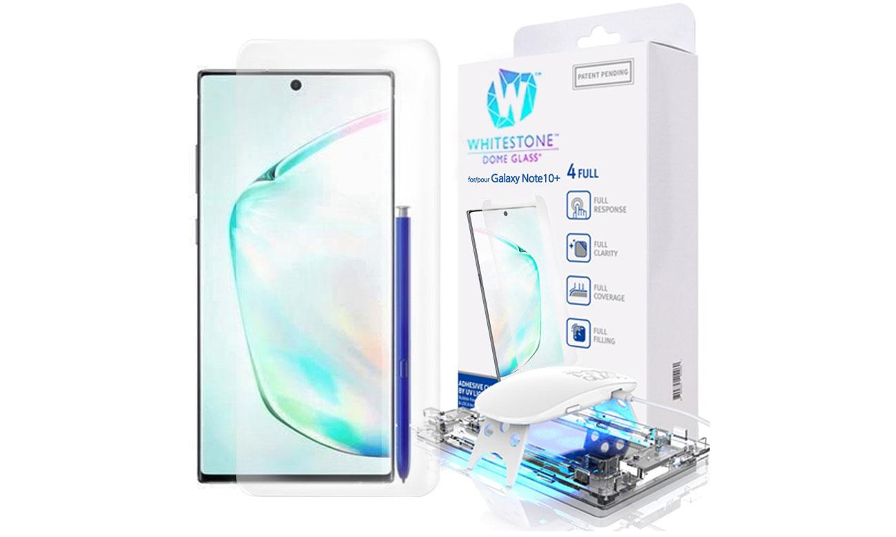 Szkło Hartowane Whitestone Dome Glass do Galaxy Note 10 Plus