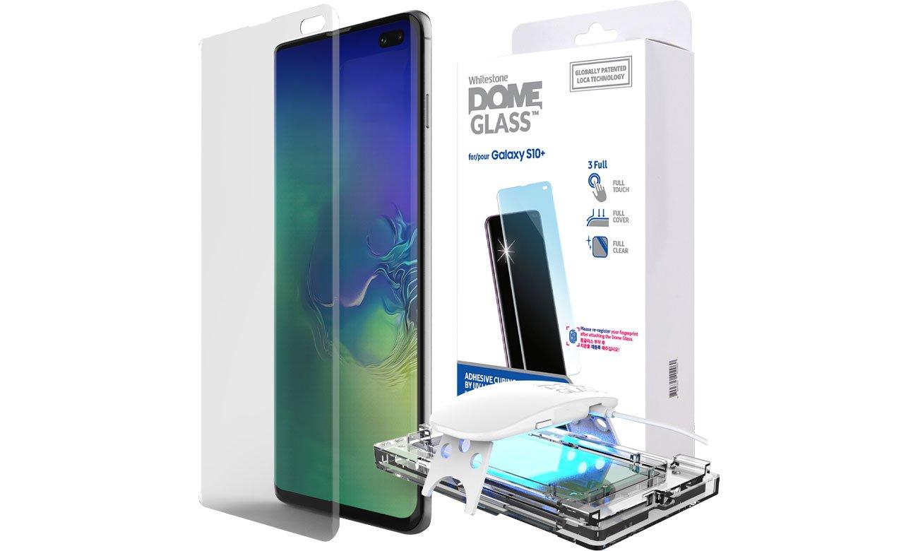 Szkło Hartowane Whitestone Dome Glass do Galaxy S10+