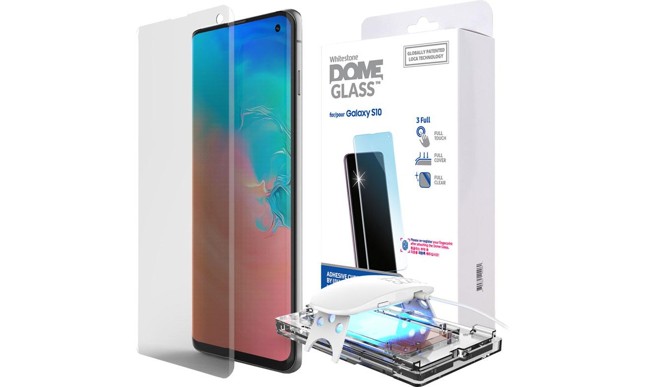 Szkło Hartowane Whitestone Dome Glass do Galaxy S10