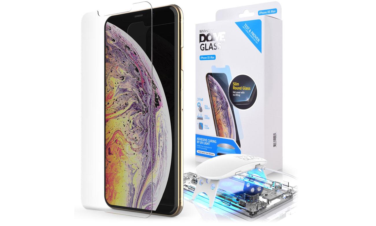 Szkło Hartowane Whitestone Dome Glass do iPhone XS MAX 8809365402960