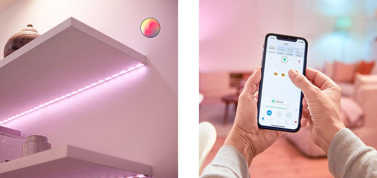 Gniazdo Smart Plug WiZ LED Strip Exctension 1m 9290025321