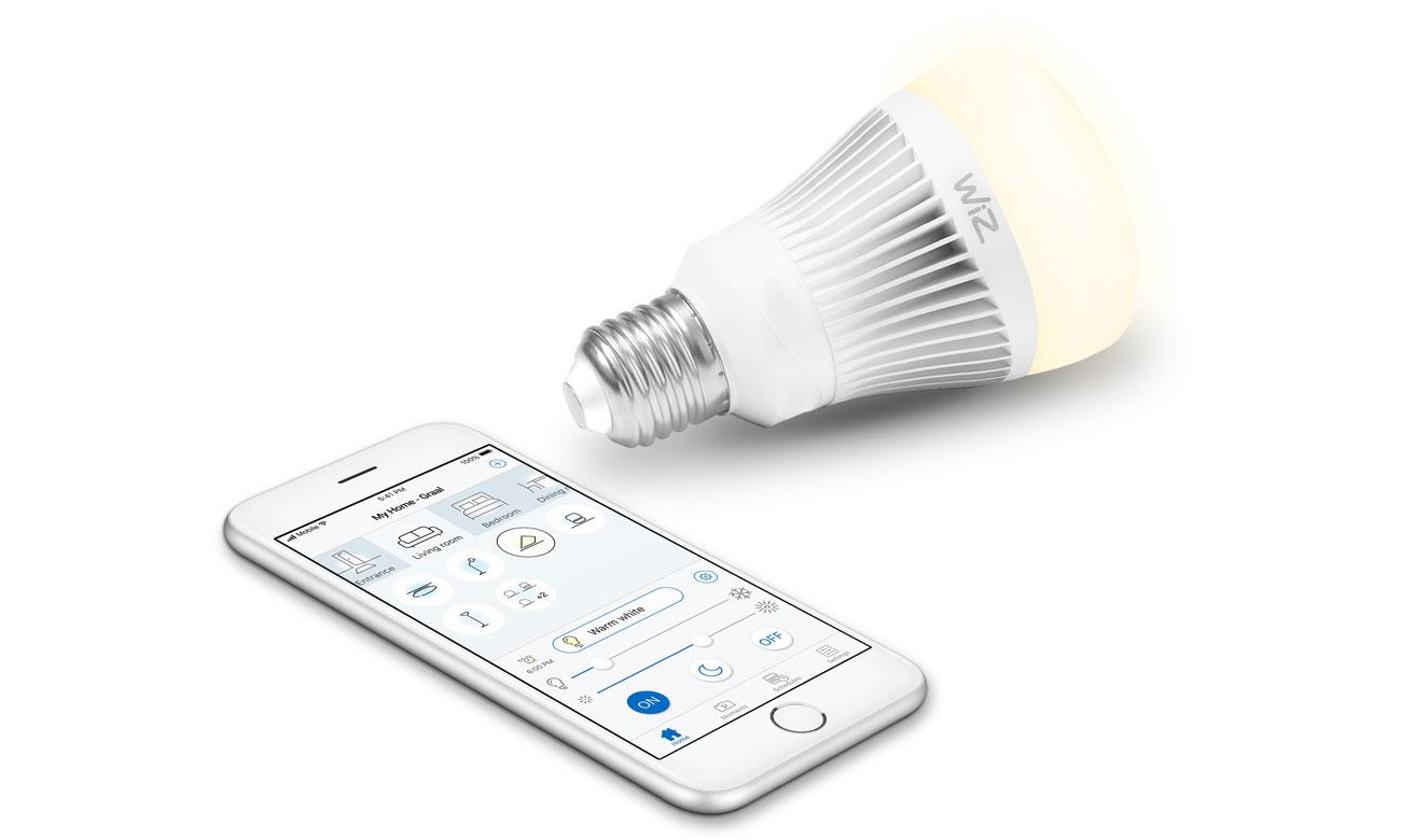 Inteligentne oświetlenie WiZ Whites LED (E27/806lm) WZ0126071