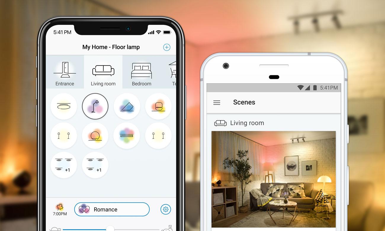 WiZ Colors RGB LED Aplikacja mobilna