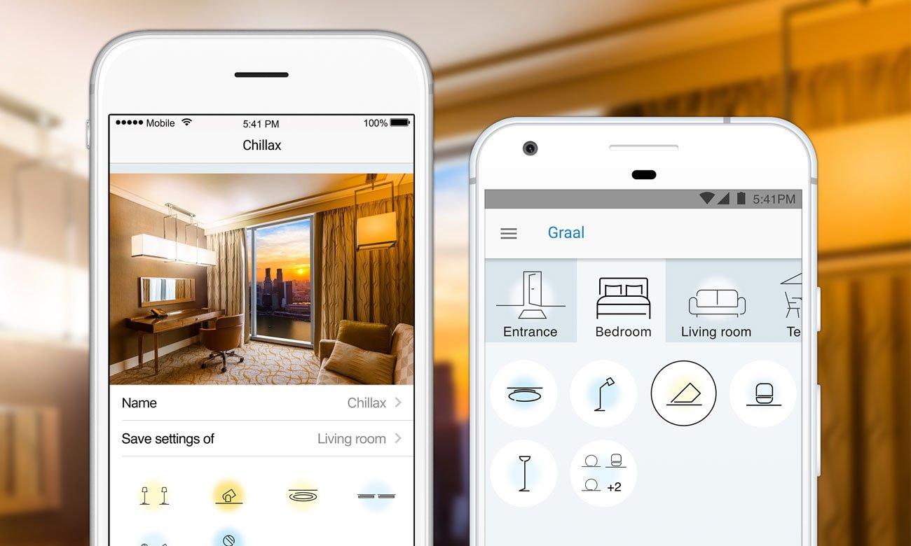 WiZ Colors E14 RGB LED Aplikacja mobilna