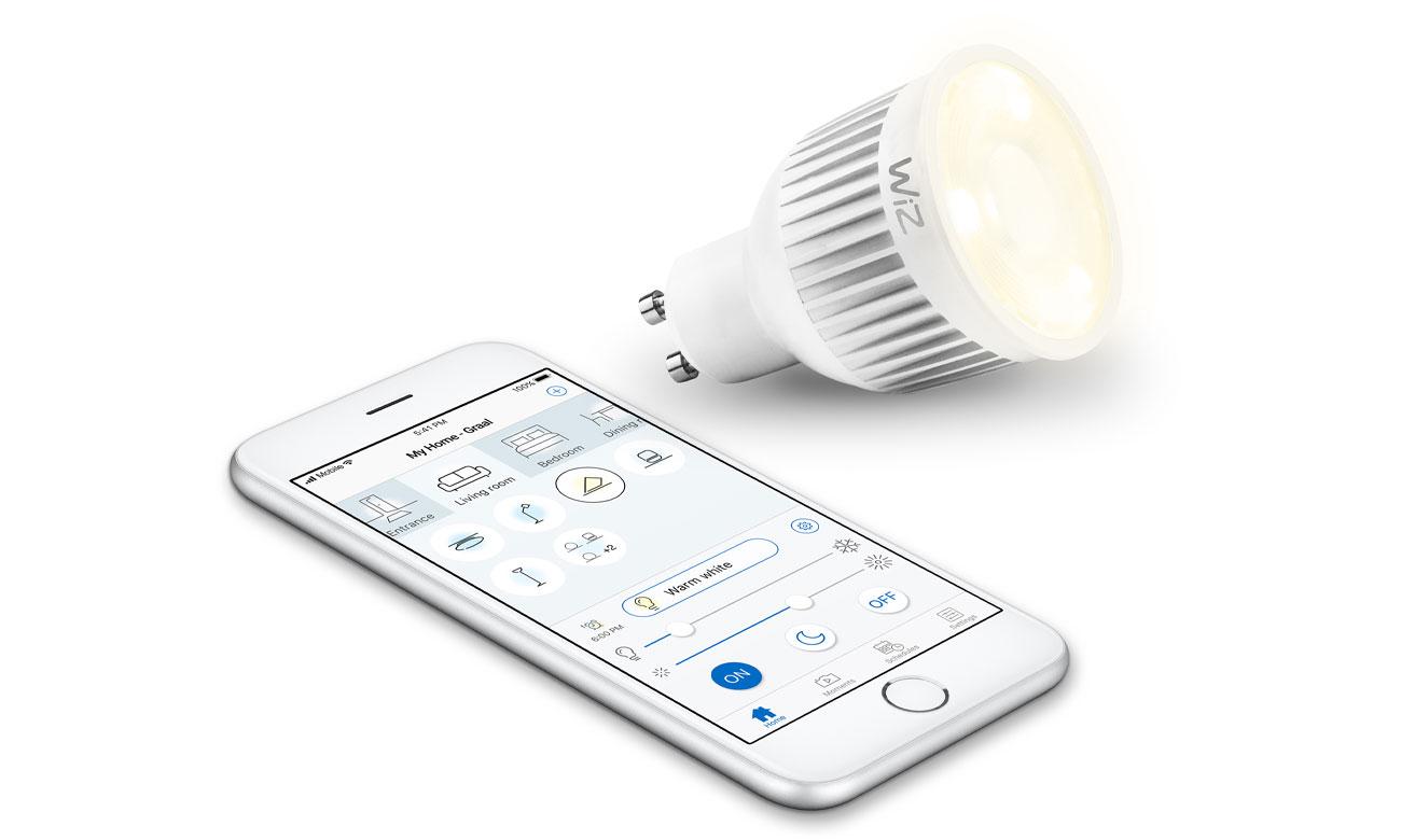 Inteligentne oświetlenie WiZ Whites LED (GU10/345lm) WZ0195071