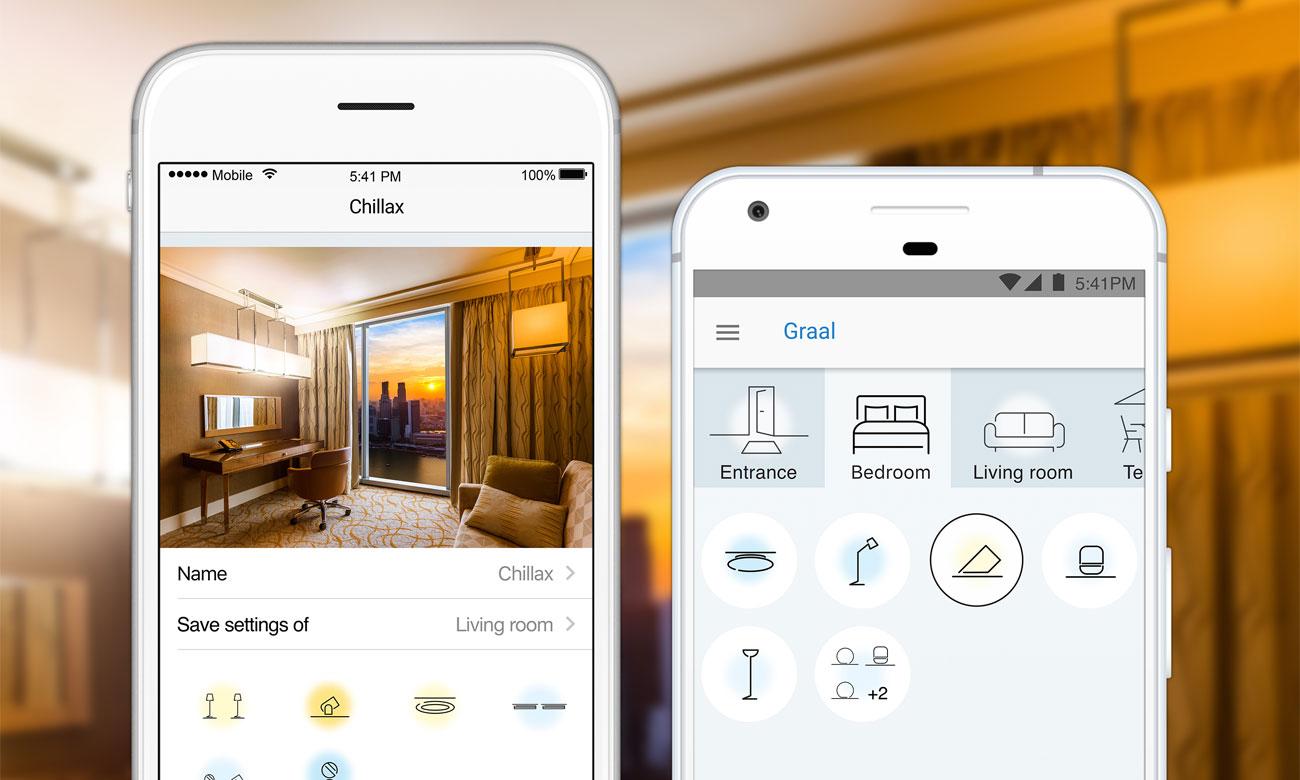 WiZ Whites LED Aplikacja mobilna