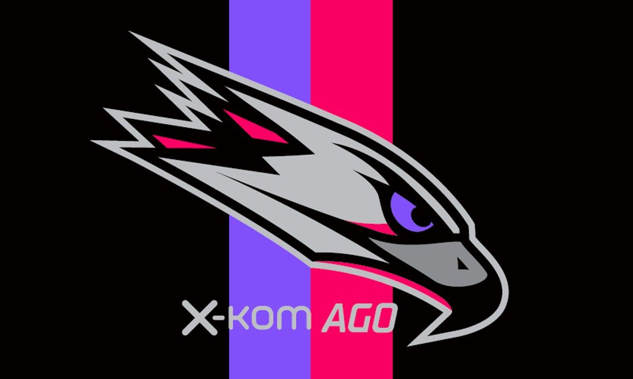 Flaga x-kom AGO