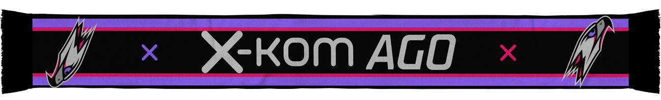 x-kom AGO logo