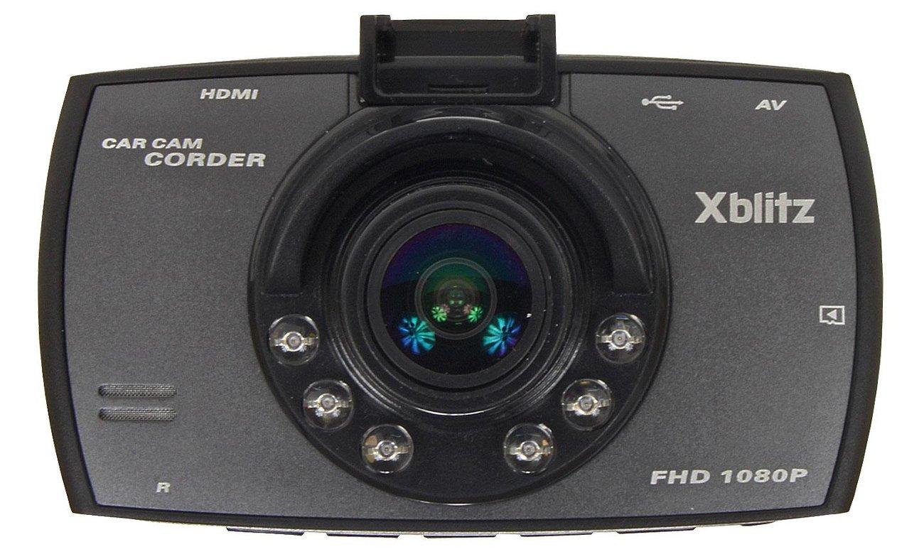 Wideorejestrator Xblitz Black Bird Przód obiektyw
