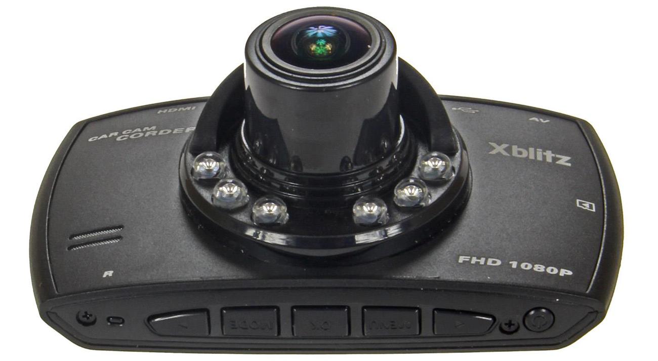 Wideorejestrator Xblitz Black Bird Przód obiektyw przyciski