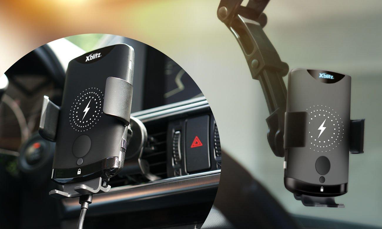 Uchwyt do smartfonów Xblitz G650 Automatyczny do Szyby i Kokpitu z Indukcją