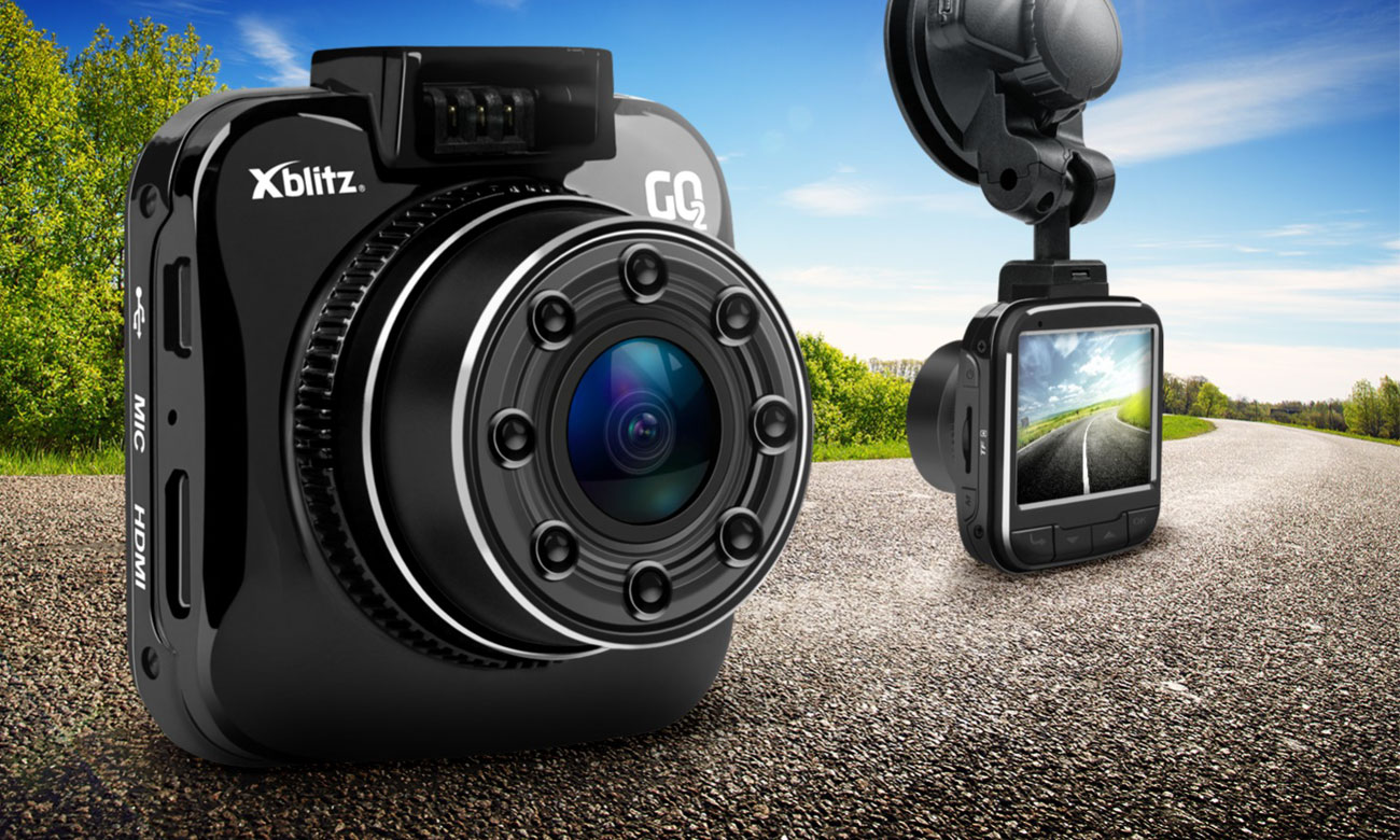 Wideorejestrator Xblitz GO 2 2.7K/2''/140