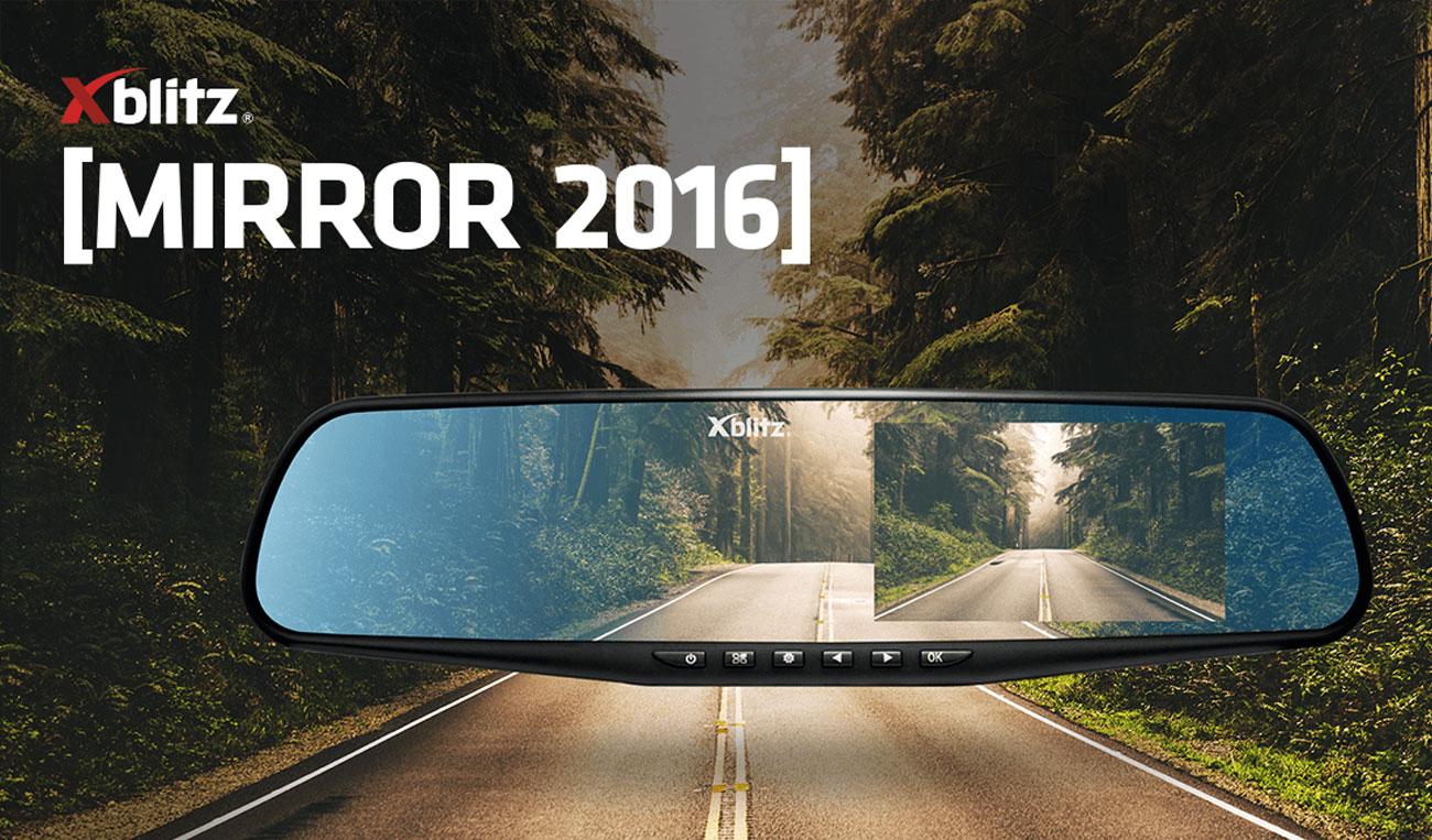 Wideorejestrator Xblitz Mirror 2016
