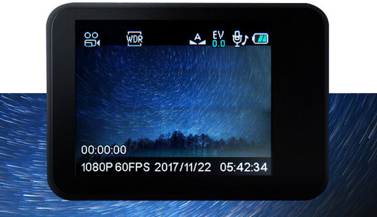 Jasne nagrania, również w nocy