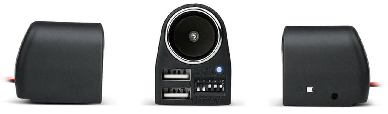 Inteligentny zasilacz do kamer samochodowych Xblitz R5 Power