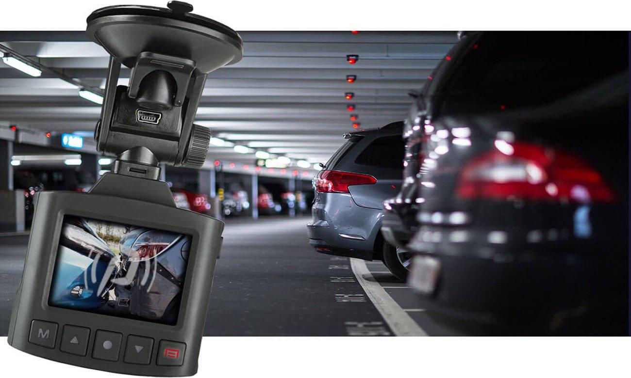 Tryb parkingowy i G-Sensor
