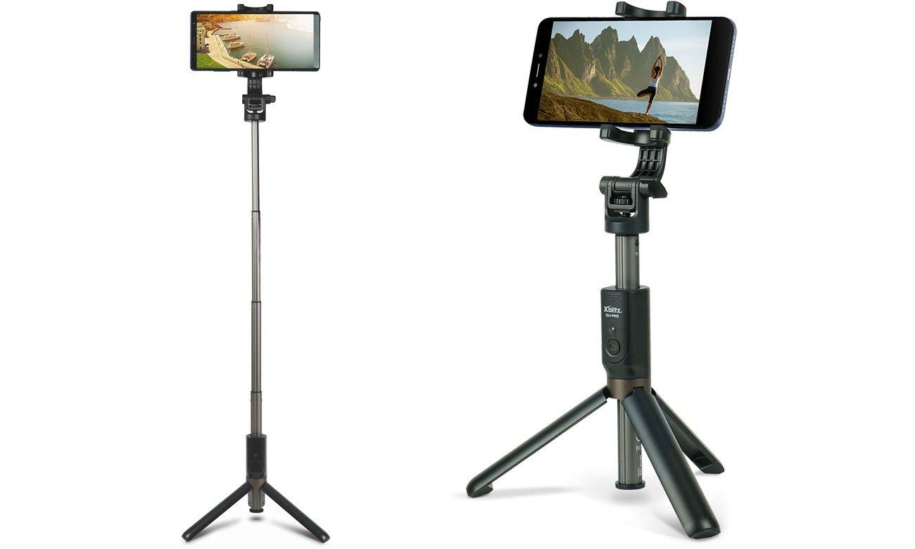 Selfie Stick Xblitz SL4 PRO Funkcja statywu