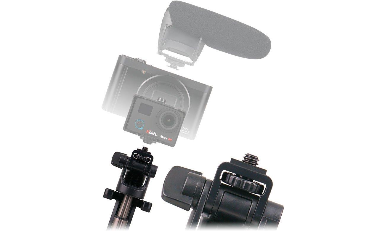 Selfie Stick Xblitz SL4 PRO Gwint 1/4 cala do kamery