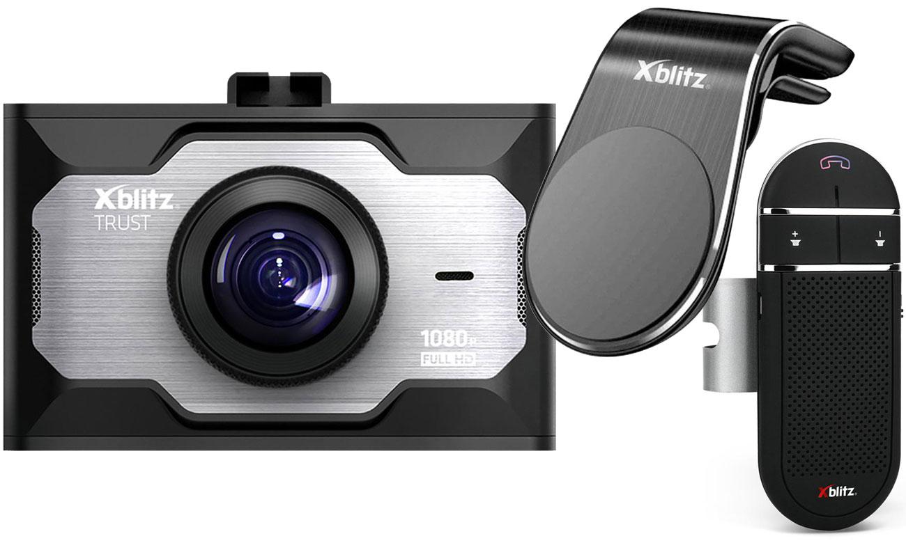 Kamera Xblitz Trust + zestaw X600 Light + uchwyt G155