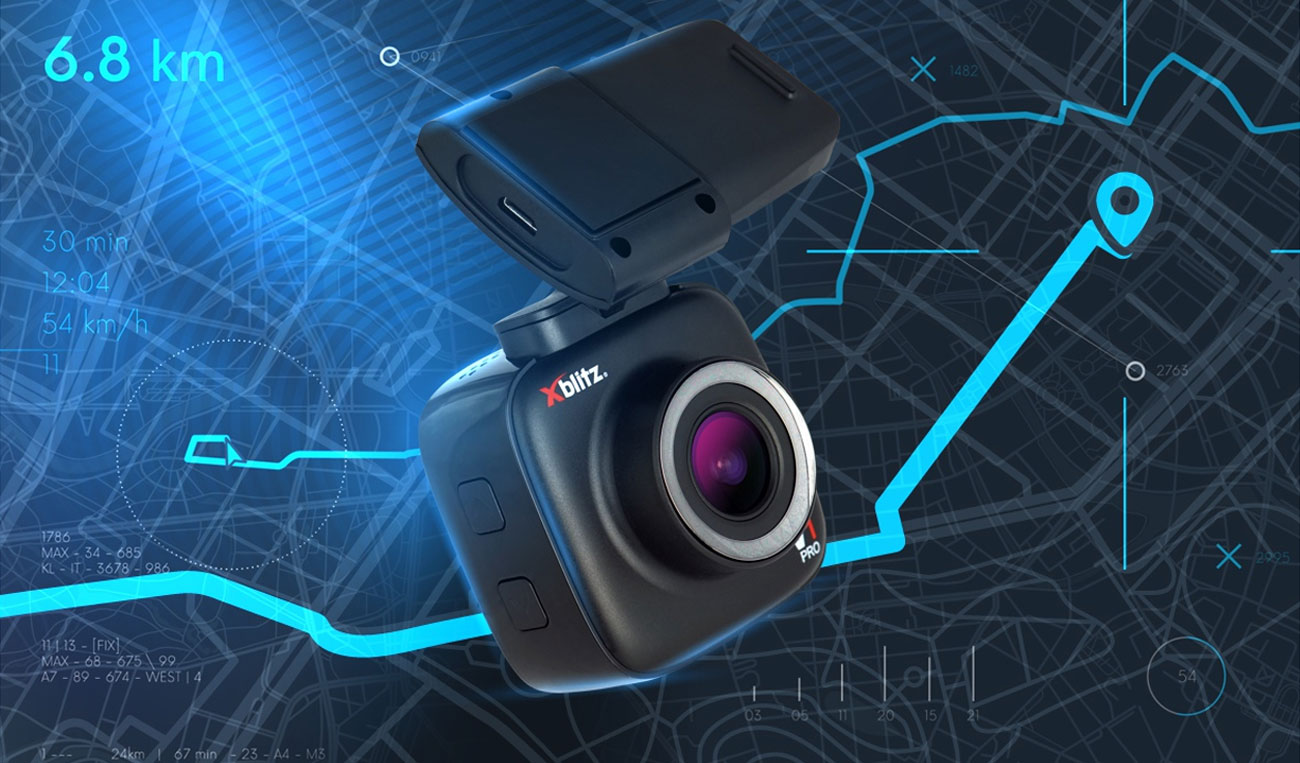 Wideorejestrator Xblitz V1 Professional