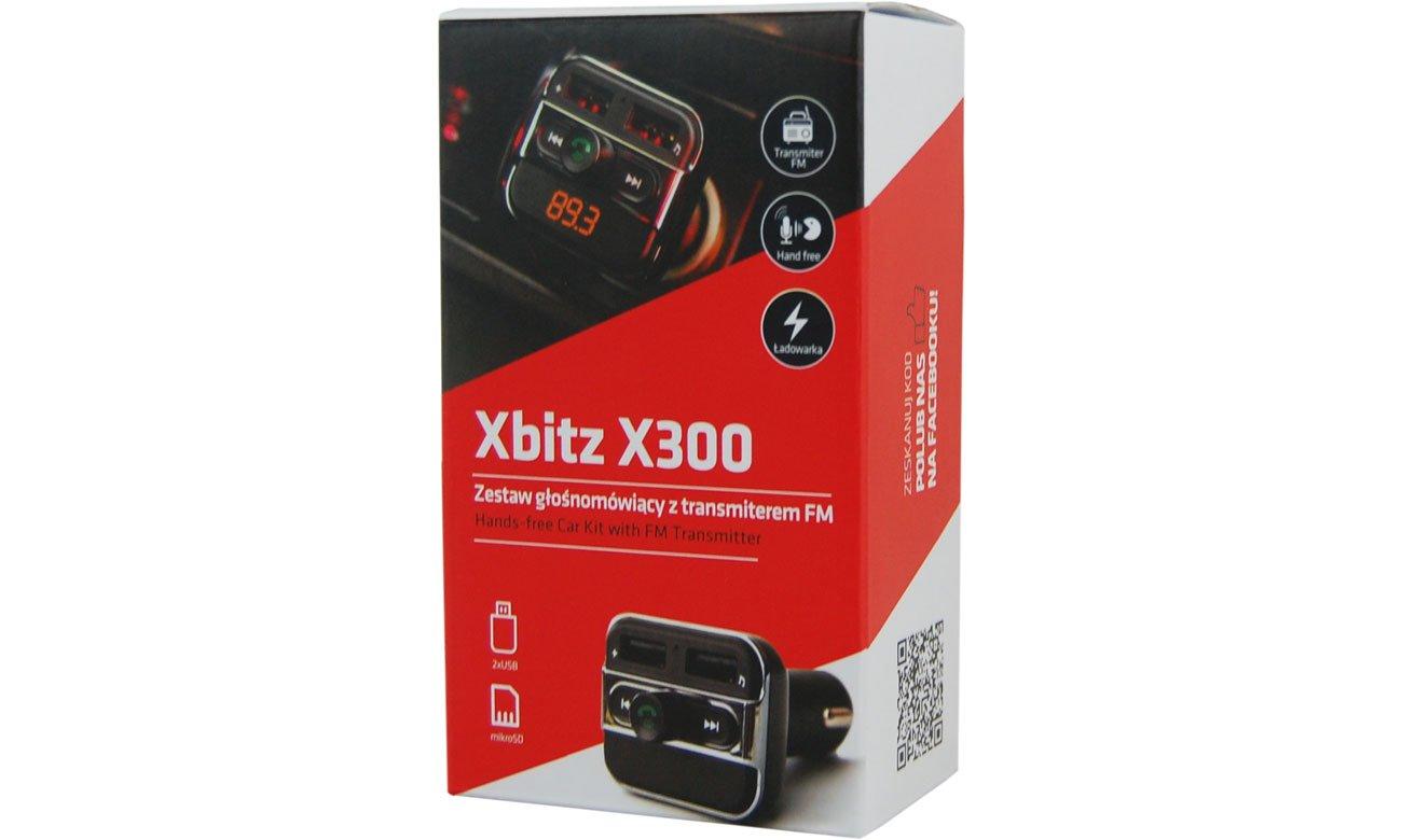 Transmiter FM/Zestaw głośnomówiący Xblitz X300