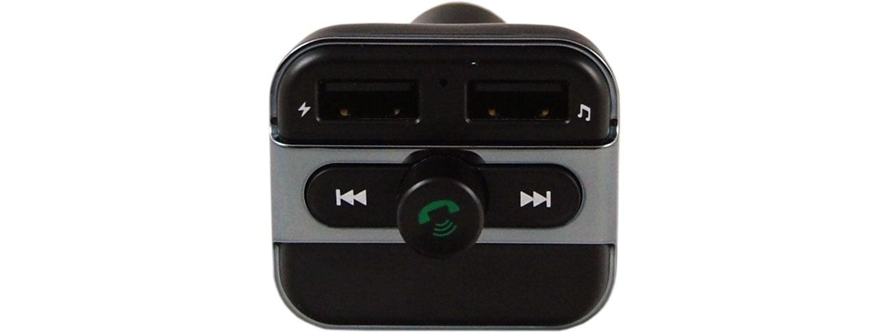 Xblitz X300 Widok z przodu, porty USB