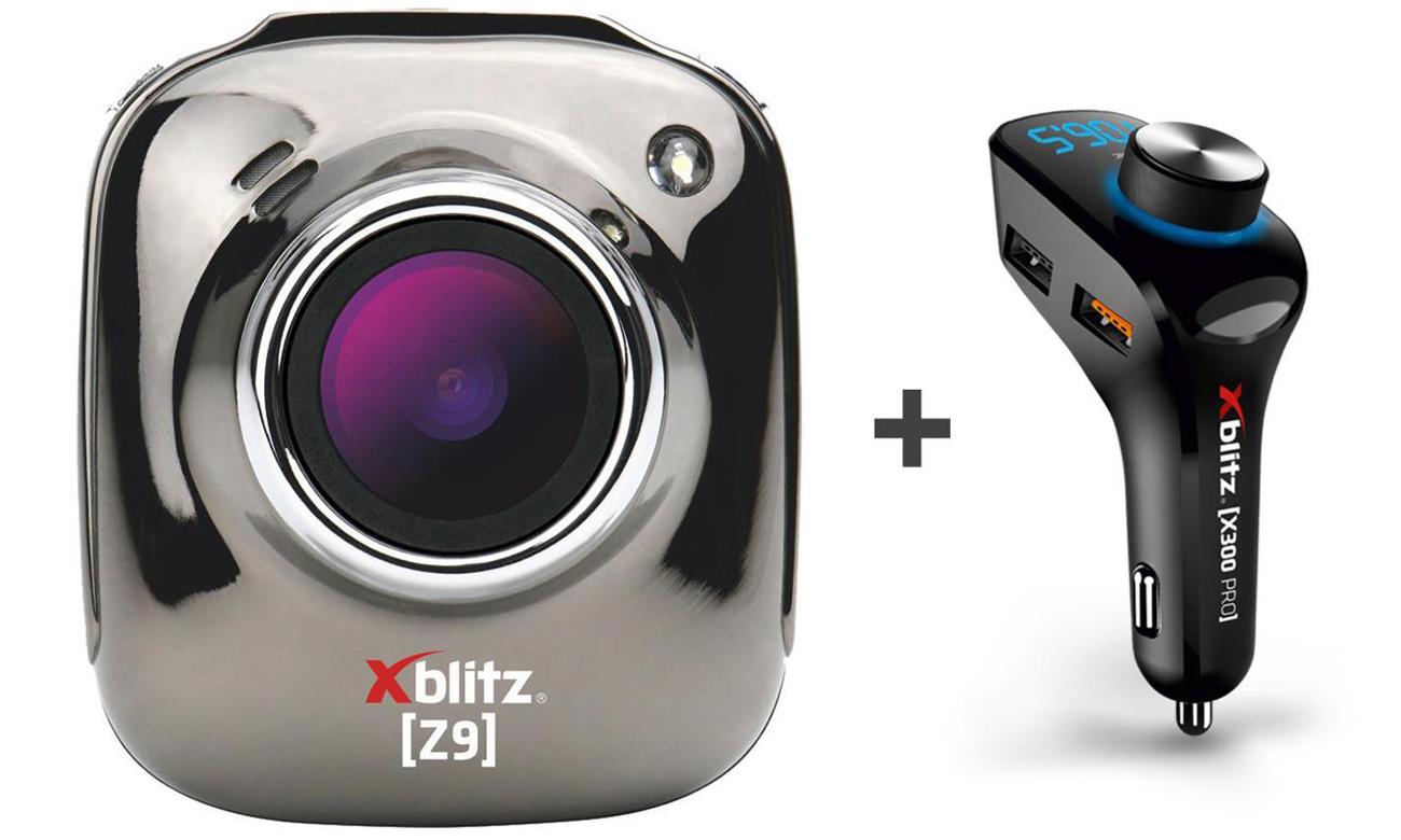 Wideorejestrator Xblitz Z9 + zestaw Xblitz X300 PRO