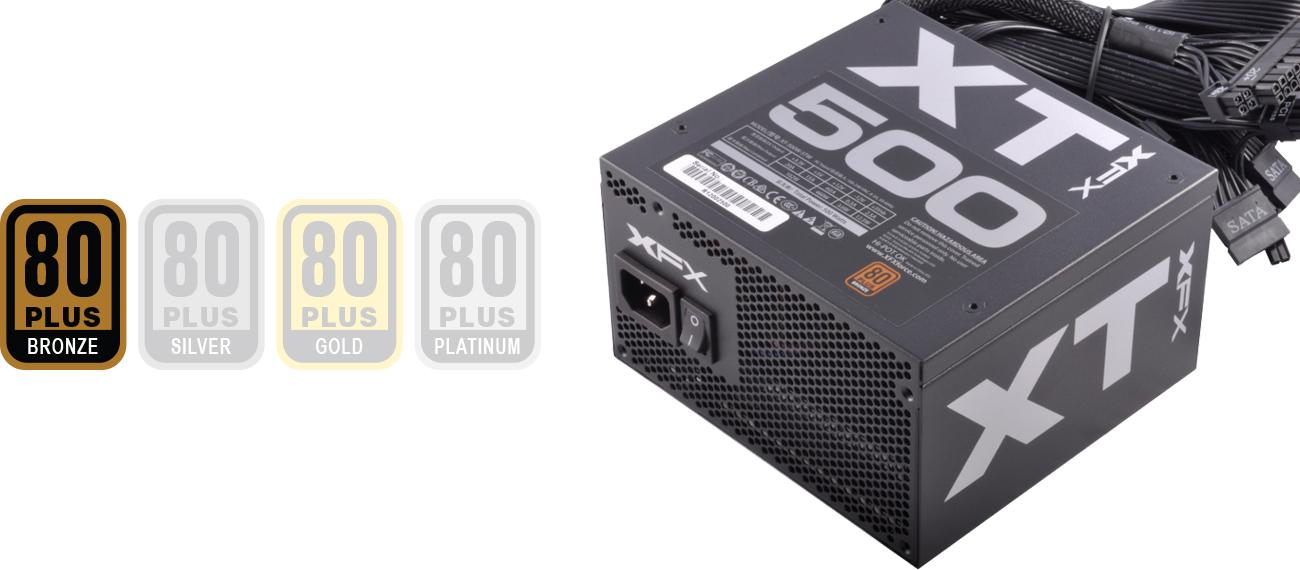 XFX 500W XT Series 80 Plus Bronze