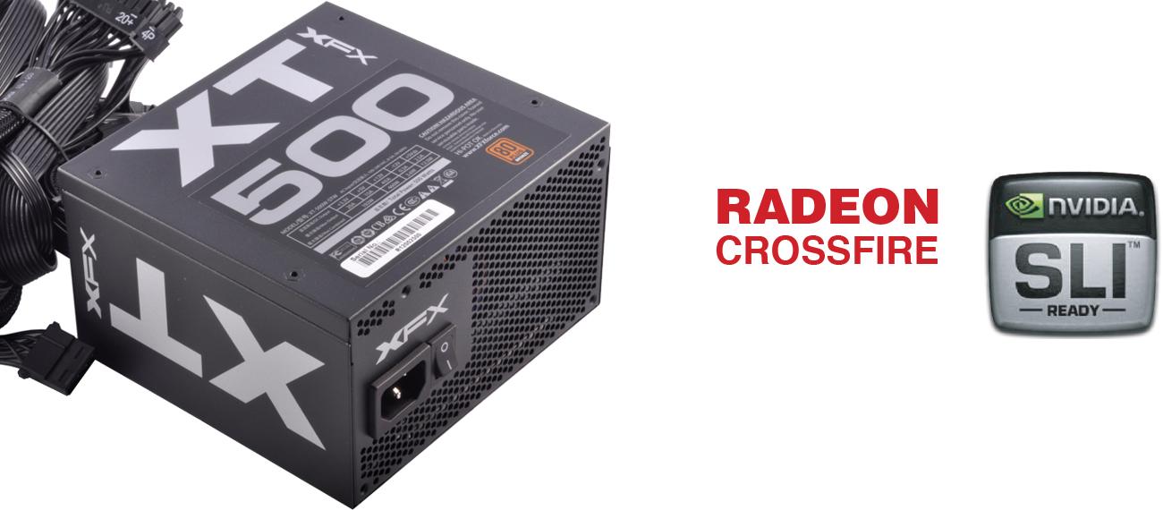 XFX 500W XT Series SLi Crossfire