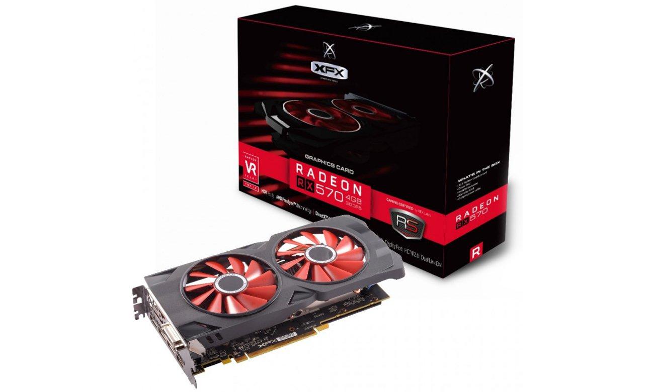Karta graficzna XFX Radeon RX 570 RS Black